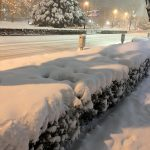 東京は大雪になりました!